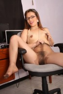 Sabrina in exotic and hairy gallery from ATKPETITES - #13