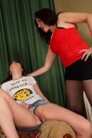 Karolina & Lida in lesbian gallery from ATKPETITES - #8
