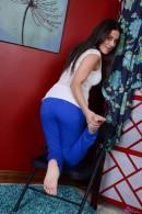 Selma Sins in footfetish gallery from ATKPETITES - #1