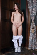 Lacey Channing in uniforms gallery from ATKPETITES - #2