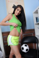 Megan Salinas in uniforms gallery from ATKPETITES - #9