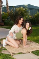 Lacey Channing & Alicia Silver in lesbian gallery from ATKPETITES - #1