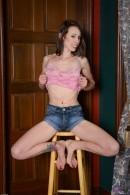 Brandi Blunt in footfetish gallery from ATKPETITES - #1