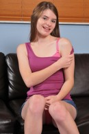 Alice March in upskirts and panties gallery from ATKPETITES - #11