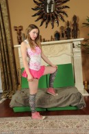 Aurielee Summers in upskirts and panties gallery from ATKPETITES - #1
