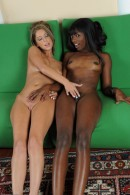 Ana Foxxx & Presley Hart in lesbian gallery from ATKPETITES - #2