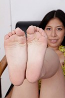 Nicole Ferrera in footfetish gallery from ATKPETITES - #3