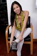 Nicole Ferrera in footfetish gallery from ATKPETITES - #9