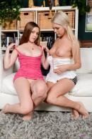 Aurielee Summers & Chloe Lynn in lesbian gallery from ATKPETITES - #2