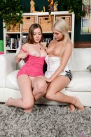 Aurielee Summers & Chloe Lynn in lesbian gallery from ATKPETITES - #3