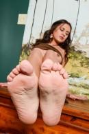 Selma Sins in footfetish gallery from ATKPETITES - #13