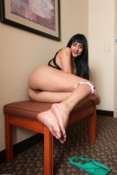 Eris Vespera in exotic and hairy gallery from ATKPETITES - #3