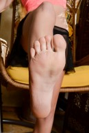 Odette Delacroix in footfetish gallery from ATKPETITES - #1
