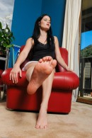 Jenna J Ross in footfetish gallery from ATKPETITES - #1