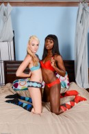 Ashley Stone & Ana Foxxx in lesbian gallery from ATKPETITES - #8