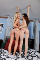 Mandy Armani & Cassie Laine in lesbian gallery from ATKPETITES - #13