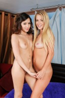 Mandy Armani & Cassie Laine in lesbian gallery from ATKPETITES - #4