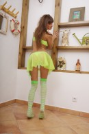 Melena in upskirts and panties gallery from ATKPETITES - #1