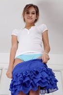 Sara Luvv in upskirts and panties gallery from ATKPETITES - #10