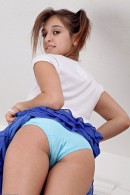 Sara Luvv in upskirts and panties gallery from ATKPETITES - #9