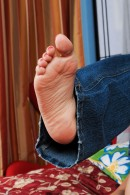 Lilly Evans in footfetish gallery from ATKPETITES - #8