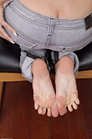 Caprice Capone in footfetish gallery from ATKPETITES - #9