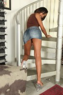 Bubbles in upskirts and panties gallery from ATKPETITES - #11