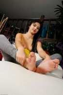 Sofia Banks in footfetish gallery from ATKPETITES - #8