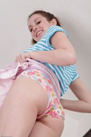 Ally Evans in upskirts and panties gallery from ATKPETITES - #8