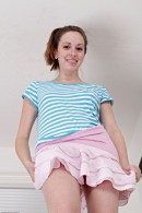 Ally Evans in upskirts and panties gallery from ATKPETITES - #9