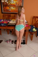 Katie King in upskirts and panties gallery from ATKPETITES - #15