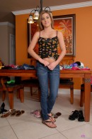 Katie King in upskirts and panties gallery from ATKPETITES - #8