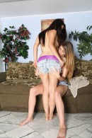 Staci Silverstone & Kenna Unnon in lesbian gallery from ATKPETITES - #3