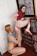 Ally Evans & Ajay Applegate in lesbian gallery from ATKPETITES - #15
