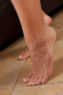 Caprice Capone in footfetish gallery from ATKPETITES - #12