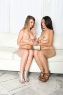 Staci Silverstone & Kenna Unnon in footfetish gallery from ATKPETITES - #3