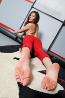 Cassie Laine in footfetish gallery from ATKPETITES - #11