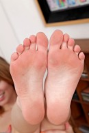 Jonni Hennessy in footfetish gallery from ATKPETITES - #2