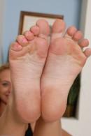 Natasha in footfetish gallery from ATKPETITES - #15