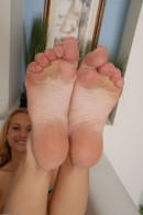Natasha in footfetish gallery from ATKPETITES - #6