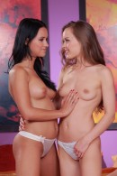 Victoria Sweet & Mia in lesbian gallery from ATKPETITES - #2
