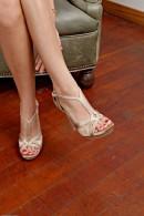 Riley Reid in footfetish gallery from ATKPETITES - #4