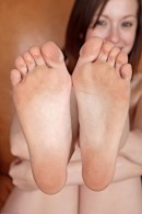 Ally Evans in footfetish gallery from ATKPETITES - #4