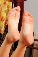 Zoey Foxx in footfetish gallery from ATKPETITES - #13