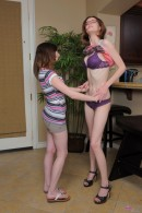 Ally Evans & Jay Taylor in lesbian gallery from ATKPETITES - #1