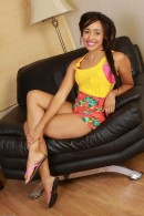 Tinslee Reagan in black women gallery from ATKPETITES - #1