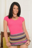 Aubrey Sky in upskirts and panties gallery from ATKPETITES - #11