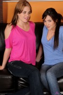 Cassie Laine & Alena Smile in lesbian gallery from ATKPETITES - #1
