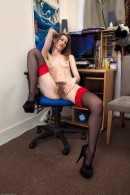 Katie Daze in scary hairy gallery from ATKPETITES - #5