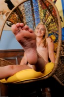 Ashley Stone in footfetish gallery from ATKPETITES - #7